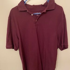 Casual Maroon Polo